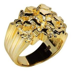anillo de oro amarillo para hombre