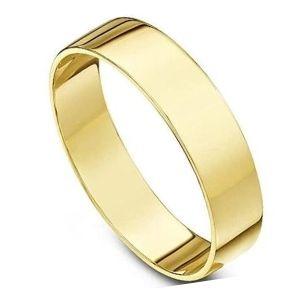 brazalete de oro amarillo para hombre