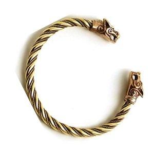brazalete vikingo de oro