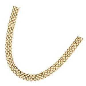 cadena bismarck de oro