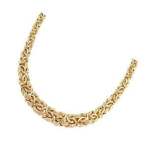 cadena bizantina de oro
