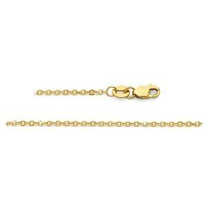 cadena de cable de oro