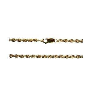 cadena cordon retorcido de oro