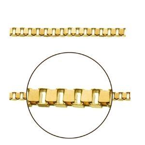 cadena veneciana de oro amarillo