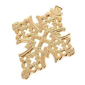 cruz copta de oro