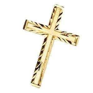 cruz dorada de oro