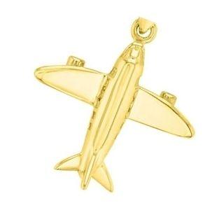 dije de avion de oro