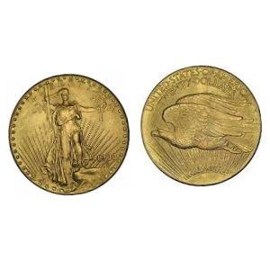 moneda aguila doble de oro americana