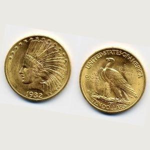 moneda aguila de oro americana