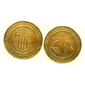 monedas chevronets de oro