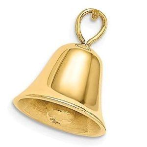 dije de campana de oro