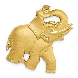 dije de elefante de oro