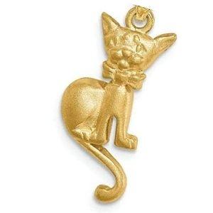dije de gato de oro