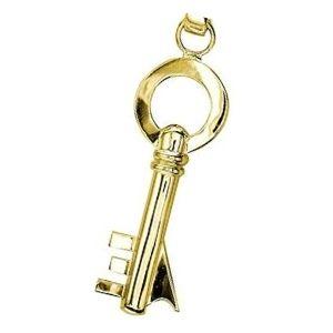 dije de llave de oro