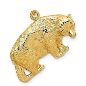 dije de oso de oro