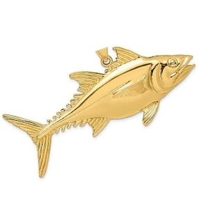 dije de pez de oro