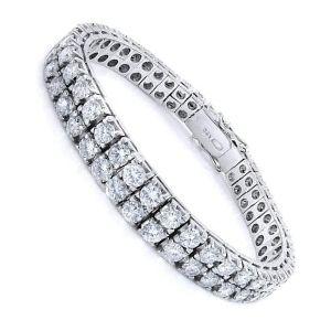 pulsera tenis de diamantes