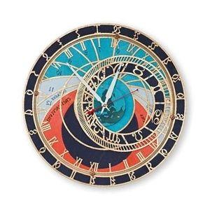 reloj astronomico de colores