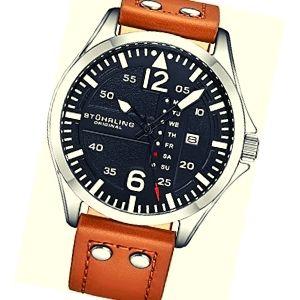 reloj de piloto de oro blanco