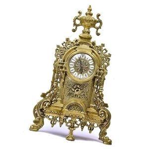 reloj de salon de latón