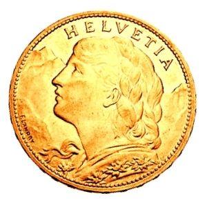 moneda vreneli de oro