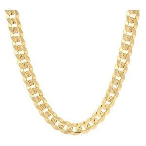 cadena para hombre, de oro amarillo macizo de 18 k