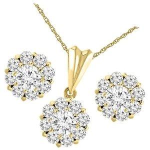 conjuntos de joyas de oro de 14 k