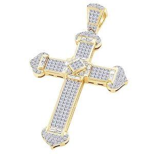 cruces de oro de 10k