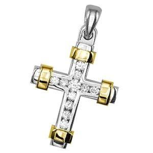 cruces de oro de 18k