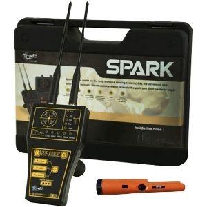detector de metales profesional de largo rango spark