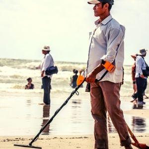 detector de oro y metales para busqueda en arena de playa