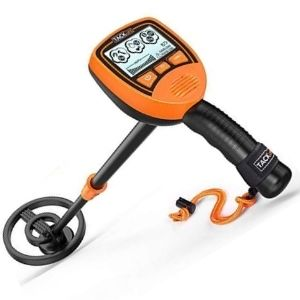 detector de metales para principiantes color naranja