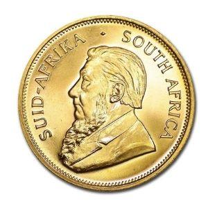 moneda de oro krugerrand sud africano de 1 oz de oro fino de 1967 sin circular