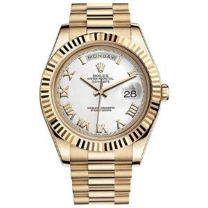 reloj automatico rolex day-date II 2 president 218238, para hombres, de oro amarillo de 18 k