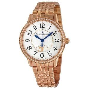 reloj suizo analogico jaeger-lecoultre rendez-vous q3442120, para mujer, de oro rosa de 18 k