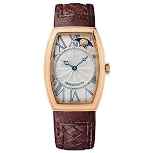 reloj automatico breguet heritage phase de lune, para mujer, de oro rosa de 18 k