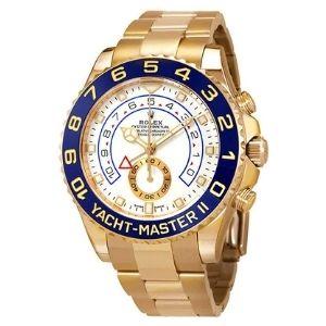 reloj automatico rolex yacht-master II, para hombre, de oro amarillo de 18 k