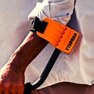 soporte de brazo de detector de metales