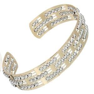 brazaletes de oro tipo cuff