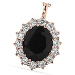 colgantes de oro con diamantes
