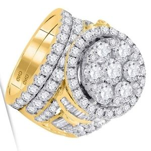 conjuntos de anillos de oro