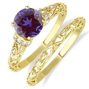 conjuntos de joyas de oro amarillo