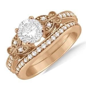 conjuntos de joyas de oro con diamantes