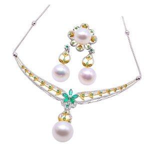 conjuntos de joyas de oro para mujer