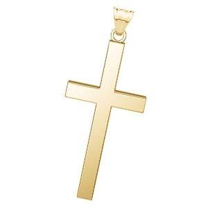 cruces de oro macizo