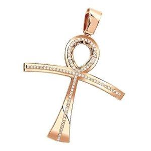 cruces de oro rosa