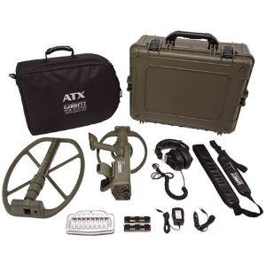 detector de oro y metales arrett atx, con caja de transporte