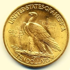 monedas aguila de oro
