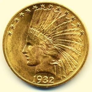 monedas cabeza de indio