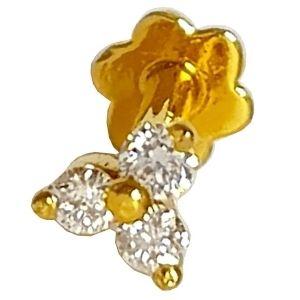 piercing de oro amarillo